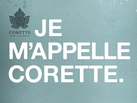 Visual Identity and Website for the new French Wine Brand Corette