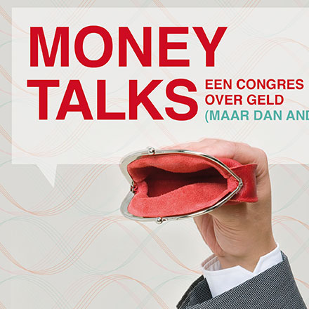 Poster and Website for an Moneytalks
