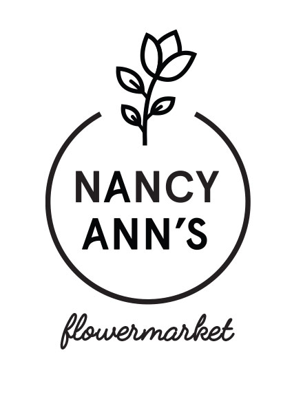 Visual identity for a flower business